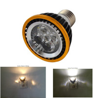 Wholesale High power CREE Led Lamp PAR20 Dimmable W W W E27 E14 GU10 Led Light AC V Spotlight LED Bulb Light Downlight
