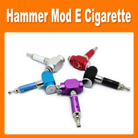 Electronic Cigarette Set Series as picture Colourful GS Hammer Mod Kit UAKE E-cigarette Hammer Pipe E cigarette with 18650 Battery Electronic Cigarette Kit by DHL free(0212026)