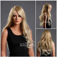 Wholesale best selling wig long blonde wigs trendy wigs women high quality japanese wig ladies wig