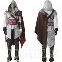 Unisex assassin's creed costume kids - Cosplay Perfect Assassin s Creed II Ezio For Men s Costume