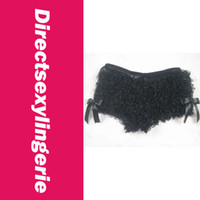 Shorts Women Capris 2014 New Hot Women Thongs Soft and Sexy Lace Panties, Hot Ruffle Short Panty LC50830-2