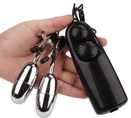Nipple vibrator Nipple clamps Vibrating Bullet Nipple Lesbia clamp Stimulate Flirt  Sex toys for women