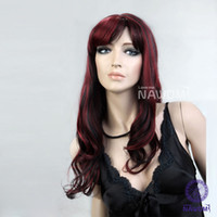 European hair hair weave and wigs - women hair weaves long red wig with a bang funky wigs kanekalon female wigs european wigs and more
