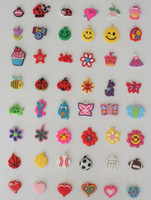 Cheap Charms rainbow loom charms Best PVC charms existing 20-30 designs plastic charms