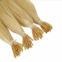 Brazilian Hair Blonde Straight Color 613 Blonde Wholesale Brazilian Remy 400S Stick Tip Hair