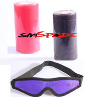 Wholesale 1 Candle Blindfold CB D low temperature safe wax candles with sexy black blindcold bougie drop shipping glim