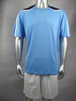 Cheap 11 units Soccer team suits,5 colors soccer uniforms,custom tracksuits,2014 brasil world cup Shirt+Shorts Football Kit Uniform sportswear