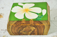 Wholesale Thai handicrafts ethnic style jewelry fashion accessories storage box inch hand painted teak storage box transected