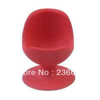 Wholesale 2pcs lotNew MIX Color TC Brand Silicone Egg Chair Unique Design Egg Cup Secure Suction Base Red Yellow