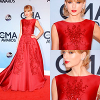 Reference Images awards - WW Taylor Swift the th CMA Awards Celebrity Formal Dress Elie Saab Haute Couture Collection Crystal Sequin Red Carpet Evening Dresses