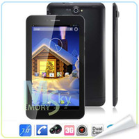 Wholesale Freelander PD10 GS Inch MTK8312 Dual Core G Tablet Phone Android MB GB Bluetooth GPS WIFI Dual Camera Phablet
