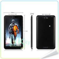 Wholesale Newest Freelander PD10 GS MTK8312 Dual Core Inch G Tablet Phone Android MB GB Bluetooth GPS black Dual Camera Bluetooth