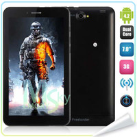 Wholesale 7 Inch MTK8312 Dual Core G Tablet Phone Android MB RAM GB Bluetooth GPS WIFI Dual Camera Phablet Freelander PD10 GS