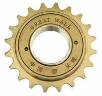 Cheap High quality round great wall 20 20t single 20 flywheel bicycle accessories bicycle flywheel