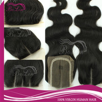 Wholesale Top Quality Cheap inch Body Wave Virgin Malaysian Hair Silk Top lace Closure Free Part Fast Shipping can be dyed