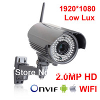 AR-VGB101-WIFI Yes Infrared 2.0MP HD 1920*1080P Sony Sensor Waterproof H.264 Onvif Wireless WIFI Network IP Camera Security CCTV Camera