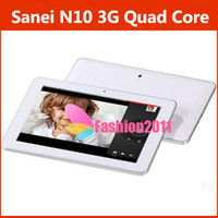 New Sanei N10 3G Quad Core Tablet PC Android 4. 1 10Inch IPS ...