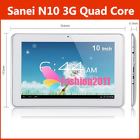 Hot Sale Sanei N10 3G Android 4. 1 Tablet Quad Core Dual Came...