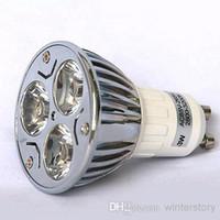 Wholesale W GU10 LED Bulbs E27 LED Lamp Light E14 LED Spot Light Dimmable LED Recessed Light