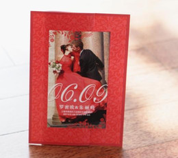 Wholesale High class Korean Charming Wedding Person cards Individuality creative wedding invitations BHP03