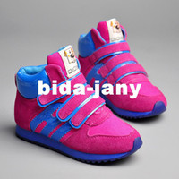 Wholesale Genuine Leather Boys amp Girls Shoes Kids Spring Brand Breathable Basketball Running Children Athletic Shoes amp Sneakers amp Boots