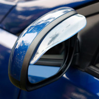 Coche espejo decorativo España-Pvc de la opinión del espejo de coche que labra la etiqueta engomada de fondo automático Espejo decorativo Rainshade Automóvil Accesorios Cars Online