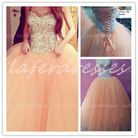 Real Photos dresses uk - 2014 Prom Dresses with Sweetheart Corset Back Ball Gown Sparkling Beaded Evening Gowns Real Photo Celebrity Dresses UK Long Prom Dress