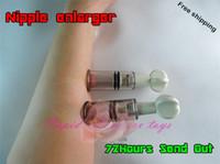Wholesale 1 cm Breast Nipple Clitoris Sucker Stimulator Massager Nipple Pump Breast Enlarger Sex Game Toy For Women