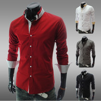 Men Cotton xy10 Men's casual long-sleeved silk shirt lapel tooling business top quality ,fashion men's shirt ,hot sell, 2014 new arrive