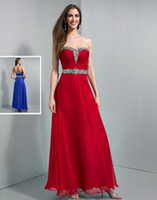 Reference Images Sweetheart Chiffon 2014 Cheap Wow Prom Dresses Sweetheart Beaded A-Line Floor Length Backless Chiffon Bridesmaid Dress Formal Dress Evening Gowns Pleat Custom