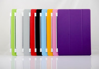 Magnetic Smart cover leather case skin bag for ipad4 3 2 air...