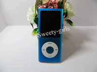 Wholesale 16GB Super Slim th Gen MP Video Camera MP3 MP4 Player with FM radio Built In Camera Inch LCD Screen