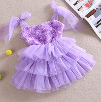 Girl 2T-3T New Year Free Shipping 2014 New 5pcs 3Color Summer Rainbow Children Kids TuTu Summer New Children Dress Rose Gauze Skirt,Birthday Holiday Party Dress