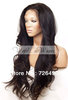 Wig,Half Wig hair wigs wholesale - Virgin Brazilian human hair wavy wig glueless full lace wig lace front wig with baby hair density women virgin hair no bangs