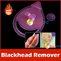 Wholesale 2pcs lotBlackhead Remover Facial Cleansing Pad Silicon Brush