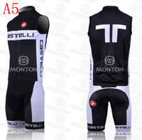 Wholesale 2014 discount mew type team castelli cycling jersey black outdoor bicycle wear bib sleeveless bike bodysuit