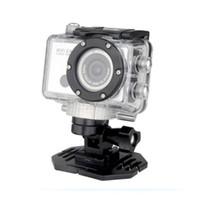 Wholesale FACTORY Waterproof Camera DV Camcorder Anti Shake Vedio Bulit in WIFI WDV5000 Full HD P MP with IR remote control Free DHL Fedex