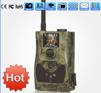 Yes Yes Yes Free shipping!! SG880MK-8M GPRS MMS Black IR Trail Scouting Hunting Game Camera