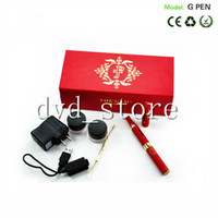 Electronic Cigarette Set Series  New micro G jesus piece glass vaporizer mini hookah pipe Snoop Dogg Micro G Vape pen vaporizer dry herb vaporizer in gift box DHL Shippin