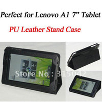 Wholesale For Lenovo IdeaPad A1 PU Leather Case perfect quot Tablet IdeaPad A1 Stand cover protector