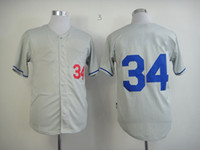 Baseball los angeles - Discount Los Angeles Dodger Valenzuela Jerseys Grey Baseball Jersey Best Quality Sports Shirts Mens Base Wears Best Athletic Uniforms