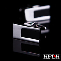 Wholesale Kraft Link KFLK Italian gentleman French shirt cuff genuine silver plated cufflinks Cufflinks Men