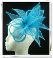 fascinator hat - multiple color fascinator hair accessories sinamay hats Party hats cocktail hats pieces DH15
