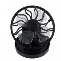 Wholesale Mini Solar Cell Fan Sun Power energy Clip on Cooling Promotion Applicable to the cap