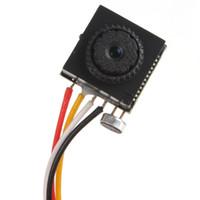 Wholesale 600TVL MP quot HD Smallest Mini Pinhole CCTV Camera CMOS Hidden Covert Cam for Home Security Video Audio Surveillance