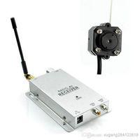 Wholesale 2016 NEW Mini Wireless Security Nanny Camera Hidden Pinhole Micro Cam CCTV DVR Complete System