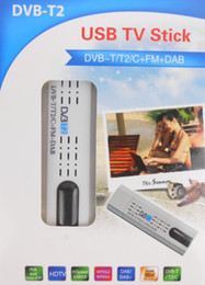 Wholesale Lastest USB DVB T2 DVB T DVB C HDTV tuner stick dongle FM DAB Radio
