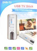 Wholesale 10 Lastest USB DVB T2 DVB T DVB C HDTV tuner stick dongle FM DAB Radio