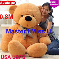 Unisex 3-4 Years Anime & Comics wholesale baby toy classic toys valentine's day teddy bears 80cm life size teddy bear doll plush toys for children birthday gift