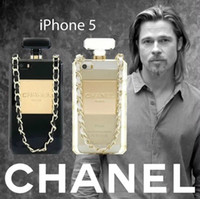 Wholesale new every hot latest mobile phones for iphone5 S G Silicone Case catwalk models N5 perfume bottles phone shell